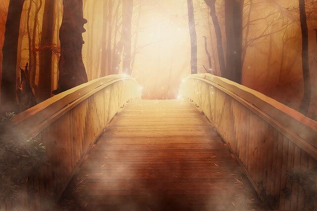 De brug tussen de oude en de nieuwe wereld
